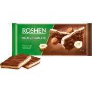 Milk chocolate ROSHEN hazelnut nougat 90gx20