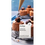 Vivani Milk cooking chocolate 200gx 10