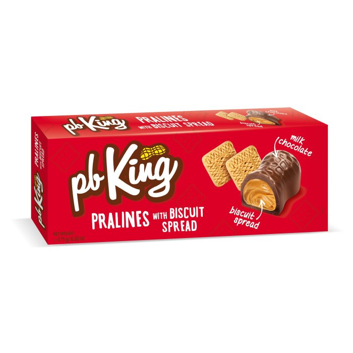 PB King Pralines  with biscuit spread 171gx18