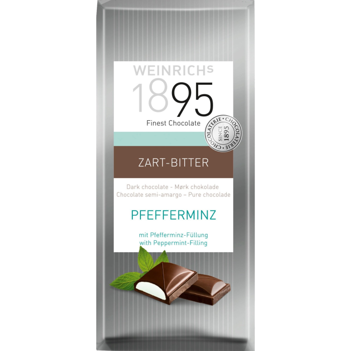 Weinrichs Dark chocolate with pepermint 100gx10