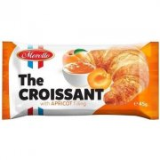 Croissant with apricot filling 24x45g